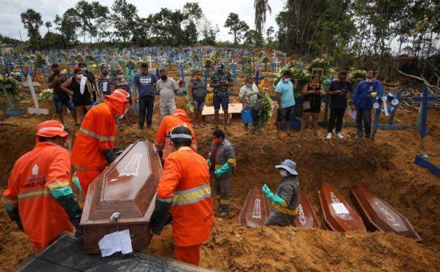 Βραζιλία: 20.286 νέα κρούσματα και 733 θάνατοι το τελευταίο 24ωρο