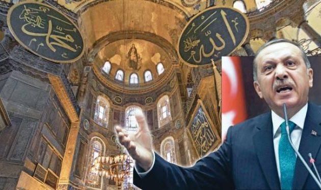 Ερντογάν: Εμείς αποφασίζουμε για την Αγία Σοφία – Απαιτούμε σεβασμό