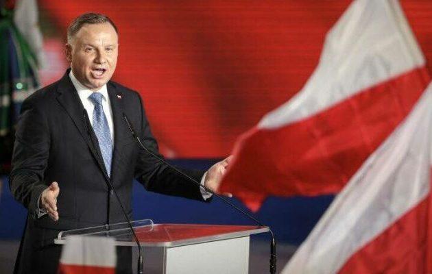 Ο Ντούντα κατηγόρησε τη Γερμανία για ανάμιξη στις πολωνικές προεδρικές εκλογές