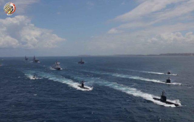 Ο αιγυπτιακός στόλος προχωρά σε μεγάλη ναυτική άσκηση στα ανοιχτά ...