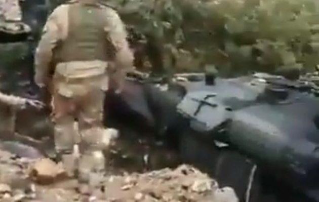 Τουρκικό ελικόπτερο έπεσε στα σύνορα Τουρκίας-Ιράκ (βίντεο)