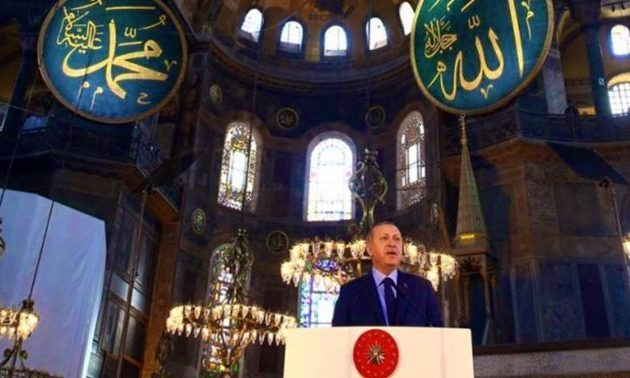 Η Αγία Σοφία τζαμί – Ο Ερντογάν υπέγραψε το διάταγμα