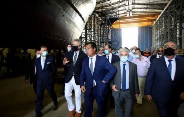 Μέσα στο επόμενο τρίμηνο ολοκληρώνεται η συμφωνία με ΟΝΕΧ για τα Ναυπηγεία Ελευσίνας