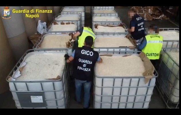 Οι Ιταλοί «έπιασαν» ναρκωτικά της οργάνωσης Ισλαμικό Κράτος αξίας ενός δισ. ευρώ