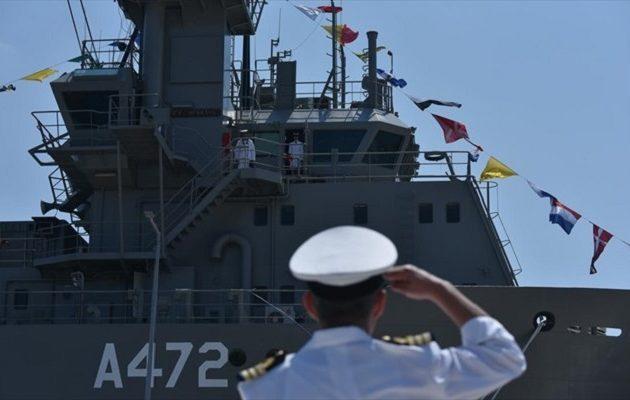 Παναγιωτόπουλος: Το Πολεμικό Ναυτικό εγγυάται την κυριαρχία στο Αιγαίο – Νέο πλοίο στο Στόλο