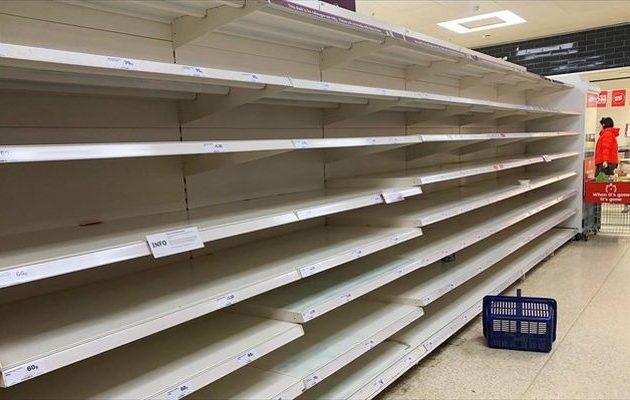 Κορωνοϊός: Άδειασαν τα σούπερ μάρκετ στην Αυστραλία