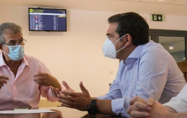Ο Τσίπρας προειδοποιεί για «διπλό χτύπημα» κατάρρευσης τουρισμού και αναζωπύρωσης κορωνοϊού