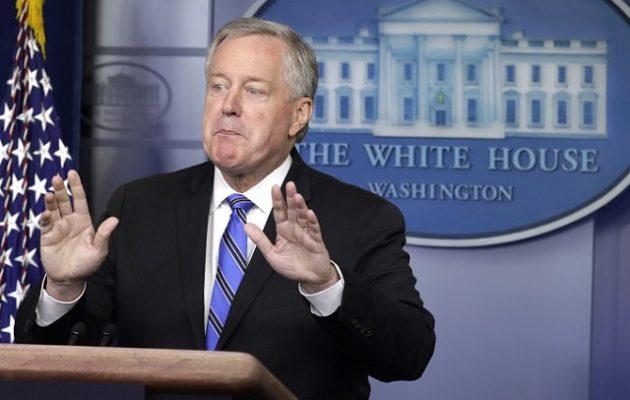 ΗΠΑ: Τι δηλώνει ο προσωπάρχης του Λευκού Οίκου για την ημερομηνία των εκλογών