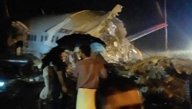 Ινδία: Συνετρίβη αεροσκάφος τη στιγμή της προσγείωσης