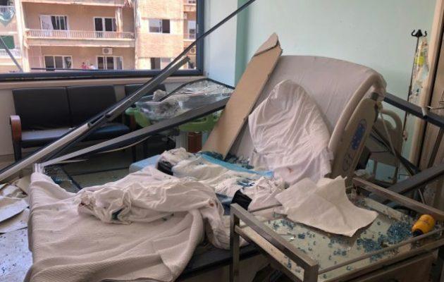 Βηρυτός: Συγκλονίζει η ιστορία ζευγαριού με νεογέννητο στο Ελληνορθόδοξο νοσοκομείο τη στιγμή της έκρηξης