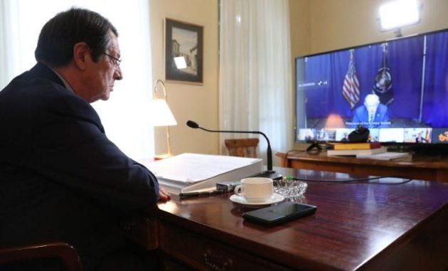 Τηλεδιάσκεψη για Λίβανο – Αναστασιάδης: Η Κύπρος προσφέρει λιμάνια, αεροδρόμια, τόνους υλικών και 5 εκ. ευρώ