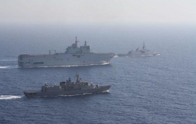 ΣΟΚ στην Τουρκία: Μεγάλη άσκηση Ελλάδας-Γαλλίας πάνω στην τουρκική Navtex