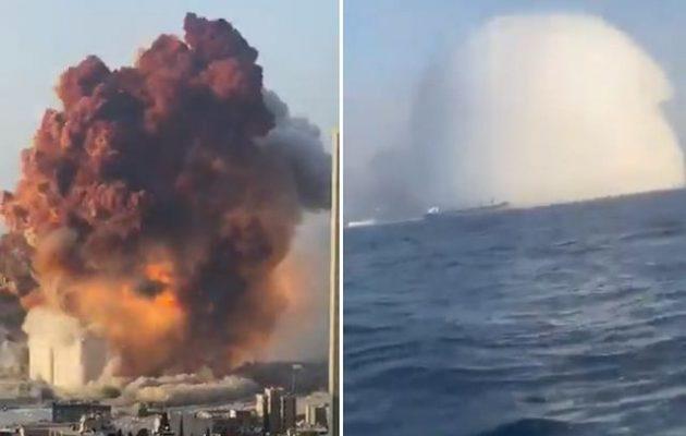 Βηρυτός: Το 70% της έκρηξης εκτονώθηκε προς τη θάλασσα – Αλλιώς η πόλη θα είχε εξαφανισθεί