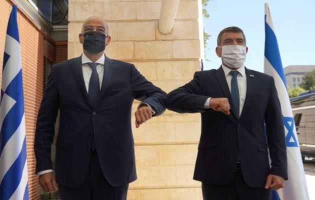 Γκάμπι Ασκενάζι: «Καλωσόρισες στο Ισραήλ καλέ μου φίλε Νίκο Δένδια»