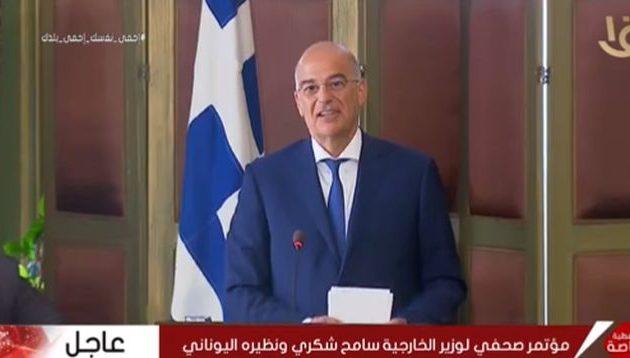 Νίκος Δένδιας: «Στον κάλαθο των αχρήστων» η ανύπαρκτη συμφωνία Τουρκίας-Σαράτζ