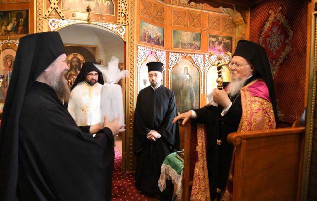 Οικουμενικός Πατριάρχης Βαρθολομαίος: «Κανένα μικρόβιο δεν θα πάρουμε από τη Θεία Κοινωνία»