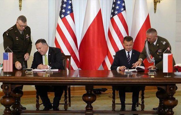 Πολωνία και ΗΠΑ υπέγραψαν συμφωνία Ενισχυμένης Αμυντικής Συνεργασίας