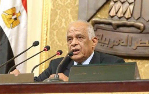 Πρόεδρος Αιγυπτιακής Βουλής: Η Τουρκία θέλει να διαμελίσει τη Λιβύη και να καταλάβει τους πόρους της