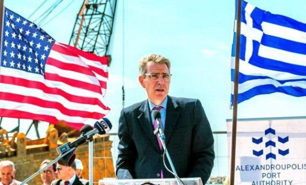 Yeni Safak: Οι Αμερικανοί θέλουν από το λιμάνι της Αλεξανδρούπολης να ελέγχουν τα Δαρδανέλια
