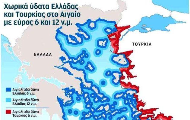 Ερντογάν: Δεν είναι αποδεκτό ένα Αιγαίο «ελληνική λίμνη»
