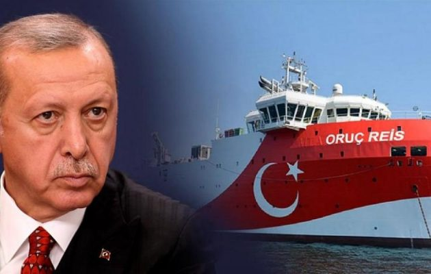 Τον «χαβά» του ο Ερντογάν: Νέα Navtex για το «Oruc Reis» ανοιχτά της Ρόδου