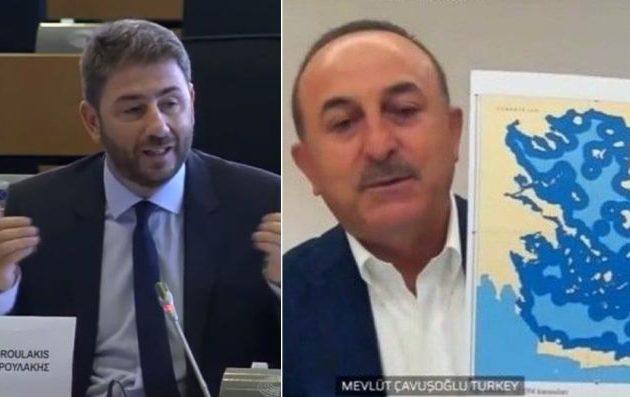Ο Ανδρουλάκης ξεμπροστιάζει τον Τσαβούσογλου: Εξωφρενικά ψεύδη και αλαζονική συμπεριφορά στην Επιτροπή Εξωτερικών