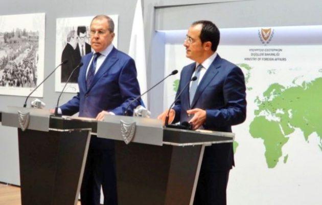 Λαβρόφ: Απαράδεκτα τα βήματα που κλιμακώνουν περαιτέρω την κατάσταση στη Ν/Α Μεσόγειο