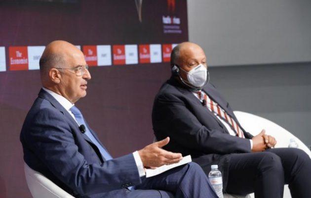 """Ο Δένδιας «πάτησε» τους Τούρκους: Η Ελλάδα αντιμετωπίζει μια νεωθωμανική απειλή """"νομιζόμενης ισχύος""""»"""