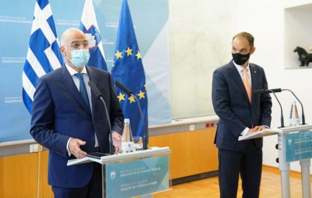 Νίκος Δένδιας: Πάντα έτοιμοι για διάλογο στο πλαίσιο της Συνθήκης του Μοντέγκο Μπέι – Τι είπε για κυρώσεις