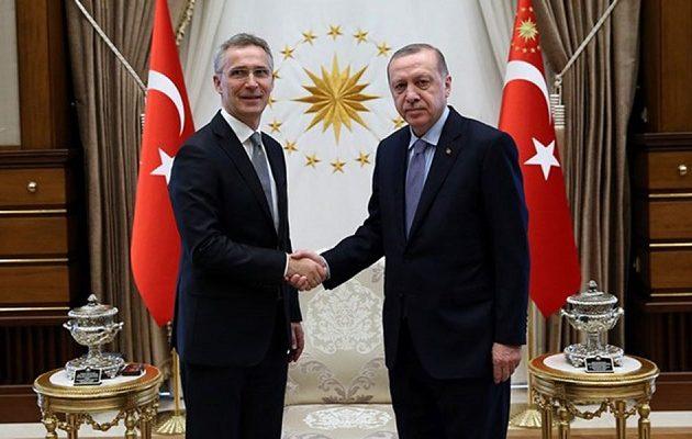 Ο Στόλτενμπεργκ καλεί τον Ερντογάν σε «συμμαχική αλληλεγγύη»