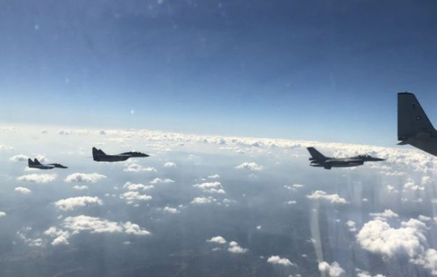 Αεροπορική άσκηση «Green Bridge 2020» Ελλάδας-Βουλγαρίας με F-16 και MIG-29