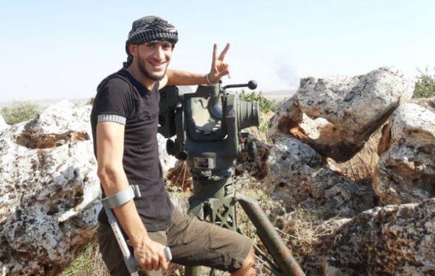 Ο τζιχαντιστής Σουχεΐλ Χαμούντ δηλώνει έτοιμος να πολεμήσει ενάντια στην Ελλάδα για την Τουρκία