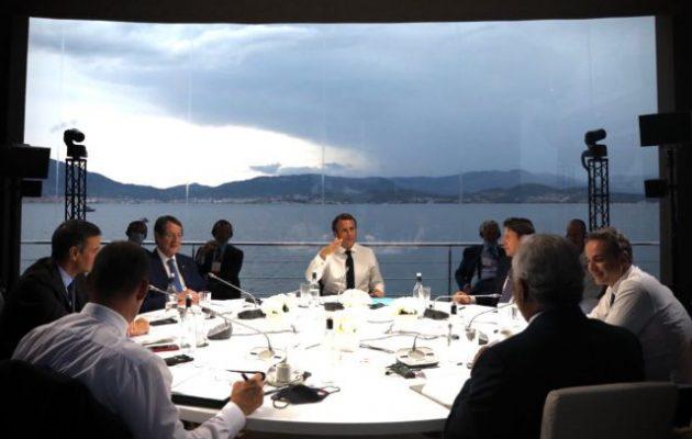 Διακήρυξη της Αζαξιό της MED7: Οι χώρες του Νότου στο πλευρό Ελλάδας και Κύπρου