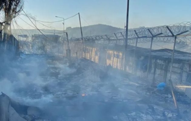 Λέσβος: Συνελήφθησαν οι αλλοδαποί εμπρηστές της Μόριας