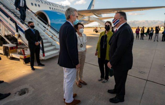 Αποχαιρετισμός Πομπέο: «Χαιρετίζω το ρόλο της Ελλάδας ως πυλώνα σταθερότητας στην περιοχή»