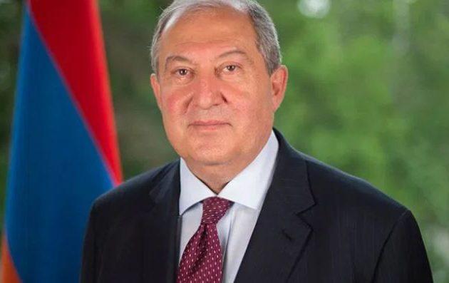 Πρόεδρος Αρμενίας: «Δεν μπορούμε να επιτρέψουμε την επιστροφή του φαντάσματος της Οθωμανικής Αυτοκρατορίας»