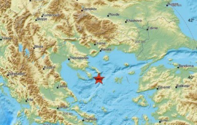 Ισχυρός σεισμός μετά τα μεσάνυχτα ανοιχτά της Χαλκιδικής