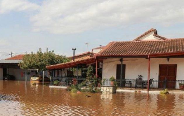 Τεράστιες καταστροφές στην Καρδίτσα – Πλημμύρισαν 5.000 σπίτια
