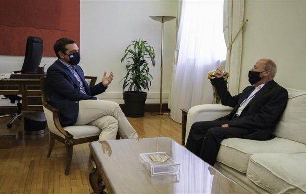 Τι ζήτησε ο Τσίπρας από τον πρόεδρο της ελληνογερμανικής ΚΟ φιλίας