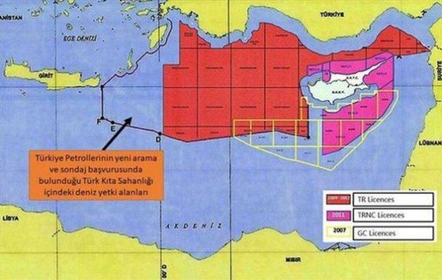 Η Τουρκία στέλνει το «Ορούτς Ρέις» έξι μίλια από Ρόδο και Καστελλόριζο
