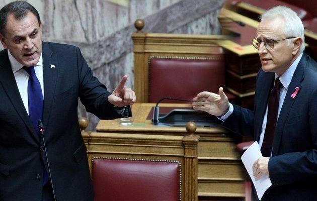 Κόντρα Παναγιωτόπουλου-Ραγκούση στη Βουλή για τα κυριαρχικά δικαιώματα της χώρας