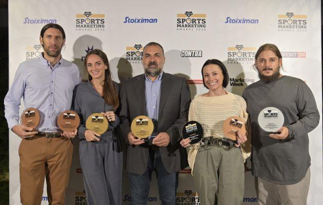 Ο ΟΠΑΠ στην κορυφή των Sports Marketing Awards: Δέκα βραβεία για προγράμματα και δράσεις της εταιρείας