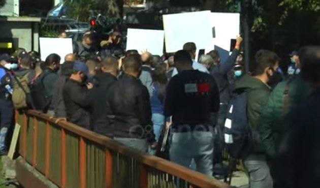 Ισλαμοφασίστες τουρκοπράκτορες Αλβανοτσάμηδες προκάλεσαν επεισόδια λόγω Δένδια