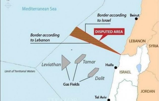 Ισραήλ και Λίβανος ξεκινούν διαπραγματεύσεις για αμφισβητούμενη ΑΟΖ