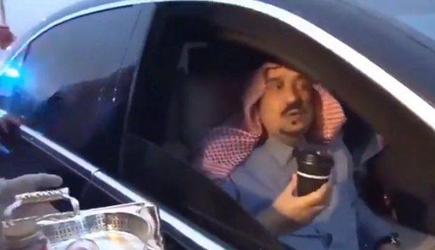 Σαουδική Αραβία: Ο πρίγκιπας Φαϊζάλ μπιν Μπαντάρ αλ Σαούντ αρνείται να πιει καφέ από την Τουρκία (βίντεο)