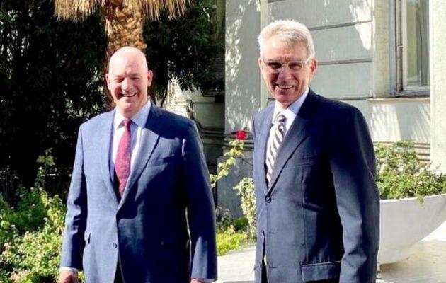 Στην Ελλάδα ο Αμερικανός υφ. Εξωτερικών Κλαρκ Κούπερ «για την προώθηση της ειρήνης και της σταθερότητας»