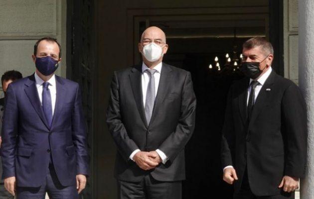 Η τριμερής συμμαχία Ελλάδας, Κύπρου και Ισραήλ μεγαλώνει: «Ανοίγει» και σε αραβικές χώρες