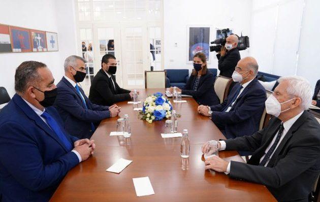 Δένδιας: Η Ελλάδα σταθερά στο πλευρό της ελληνικής εθνικής μειονότητας στην Αλβανία