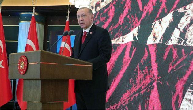 Ερντογάν: Αμαρτωλή η Ευρώπη – Η Τουρκία δεν θα προδώσει τους προγόνους της