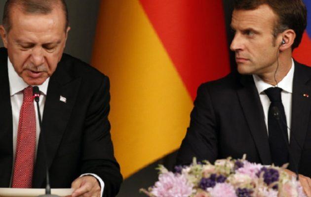 Έξαλλος με τον Ερντογάν ο Μακρόν: Η Γαλλία ανακάλεσε τον πρέσβη της στην Τουρκία